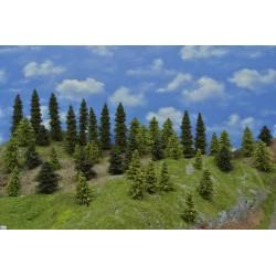 LES N20, smrky, borovice, modříny 3-17cm (N20)