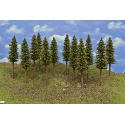 HO - stromky,smrky,výška 18-20cm,12ks (13/S2/HO)