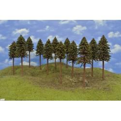 HO - stromky,smrky,výška 20-22cm,12ks (19/S3/HO)