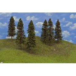 HO - stromky,smrky,výška 24-27cm,12ks (20/S3/HO)