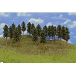 HO - stromky,smrky,výška 15-17cm,20ks (42/B1/HO)