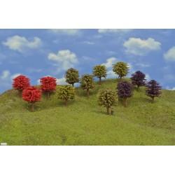 HO - stromky,listnaté,výška 8-9cm,12ks (49/O/HO)
