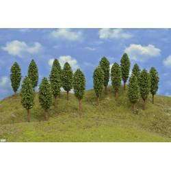 HO - stromky,listnaté,výška 13cm,16ks (52/Z2/HO)