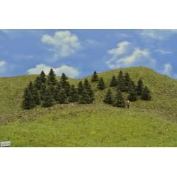N - borovice,výška 3-4 cm,30ks (37/B1/N)