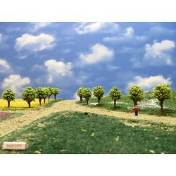 T T- stromy,zelené,kulaté, 4cm(54/Z1/TT)