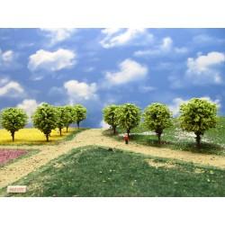 55Z1TT-stromy,zelené,kulaté, 6-7cm, 16ks