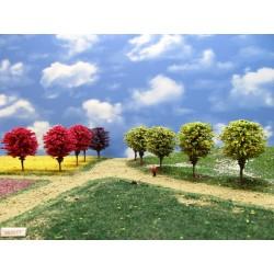TT - stromy,zelené,kulaté, 6-7cm, 16ks (55/Z1/TT)