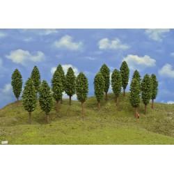 TT - listnaté stromy 13cm,16ks (52/Z2/TT)