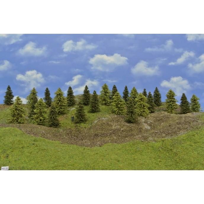 LES HO33, smrky, modříny, 5-9 cm