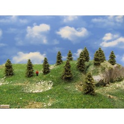 TT - stromky,smrčky,výška 4-5cm,30ks (4/S1/TT)