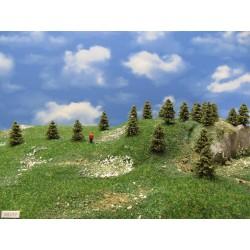 TT - stromky,smrčky,výška 3-4cm,30ks (3/S1/TT)
